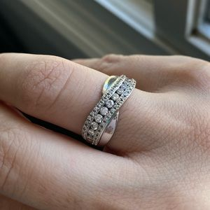 14k ring white gold